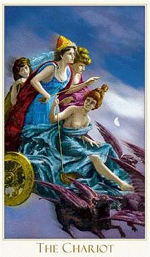 Романтическоe таро 8