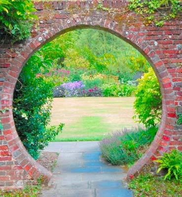 Проход в сад